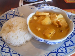 Hearty Potato and Chicken Curry