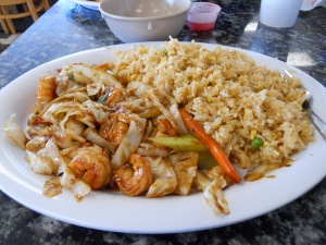Hibachi with Calamari